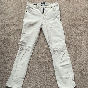 Lucky Brand white jeans size 25